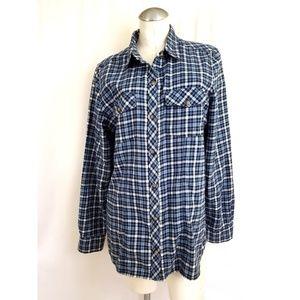 Eddie Bauer Size XL Flannel Button Down Shirt